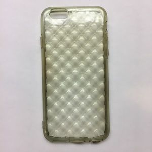 Clear Quilted Like iPhone 6 6s Phone Case
